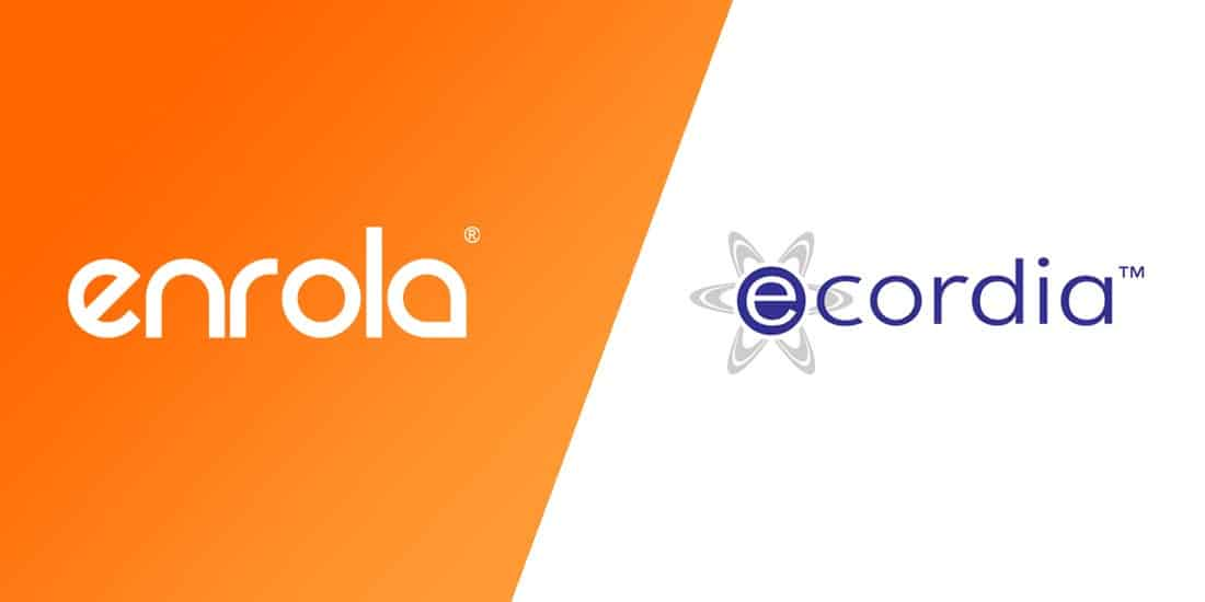 enrola now links to Ecordia's e-Portfolio software