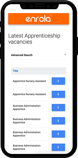 enrola-job-board-mobile-view